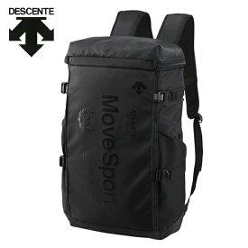 デサント DESCENTE バックパック メンズ レディース スクエアバックパックM 30L DMANJA04-BK