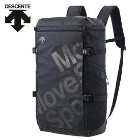 デサント DESCENTE バックパック メンズ レディース スクエアバックパックL 40L DMANJA05-BK