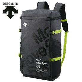 デサント DESCENTE バックパック メンズ レディース スクエアバックパックL 40L DMANJA05-BLKM