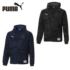 プーマ サッカーウェア ウインドブレーカージャケット メンズ FTBLNXT カジュアル ウーブン ジャケット 656203 PUMA