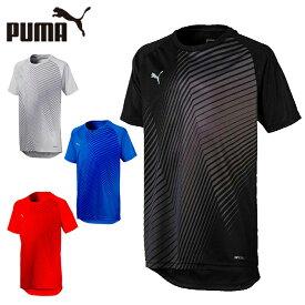 プーマ サッカーウェア 半袖シャツ ジュニア キッズ CUP トレーニング ジャケット コア 656244 PUMA