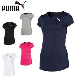 プーマ Tシャツ 半袖 レディース ワンポイント機能Tシャツ 853806 PUMA