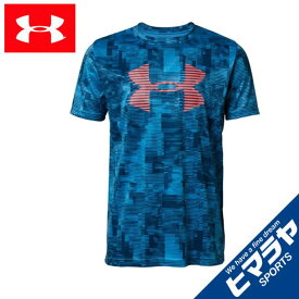 アンダーアーマー Tシャツ 半袖 ジュニア UAテックビッグロゴプリントTシャツ 1331688 452 UNDER ARMOUR