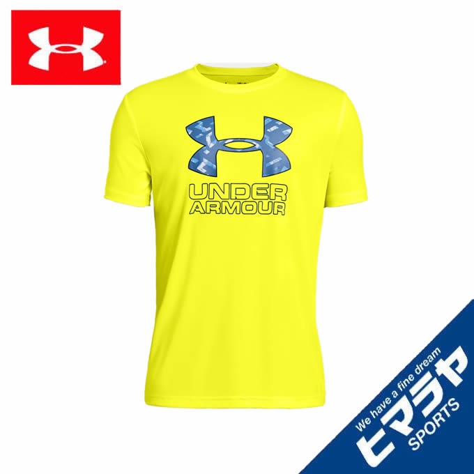 アンダーアーマー Tシャツ 半袖 ジュニア UAプリントTシャツ トレーニング BOYS 1329819-731 UNDER ARMOUR