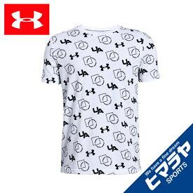 アンダーアーマー Tシャツ 半袖 ジュニア UAスポーツスタイル プリントショートスリーブ BOYS 1329095 100 UNDER ARMOUR