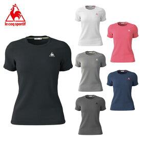 ルコック le coq sportif Tシャツ 半袖 レディース ワンポイント半袖機能Tシャツ QMWNJA30ZZ