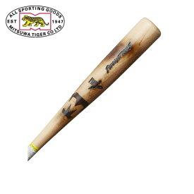 ミツワタイガー MITSUWA TIGER 野球 一般軟式バット メンズ 軟式木製 Pennant King RBPI19A 001