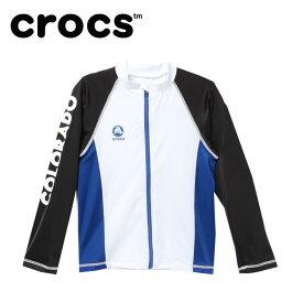 クロックス crocs ラッシュガード 長袖 ジュニア B S/Sラッシュトップ 129-224