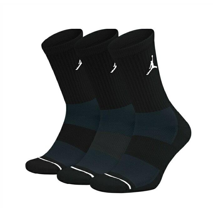 ナイキ バスケットボール ソックス メンズ レディース ジョーダン ジャンプマン クルー3足組 SX5545-013 NIKE