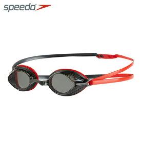 スピード speedo FINA承認 クッション付き スイミングゴーグル メンズ レディース Vengeance ヴェンジェンス SE01911-RK