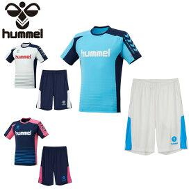 ヒュンメル サッカーウェア プラクティスシャツ 上下セット ジュニア Tスーツ HJY1142SP hummel