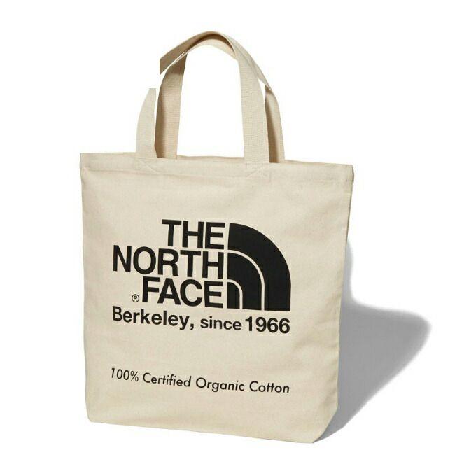 ノースフェイス トートバッグ メンズ レディース TNF Organic Cotton Tote TNFオーガニックコットントート NM81908 K THE NORTH FACE