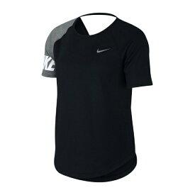 ナイキ スポーツウェア 半袖Tシャツ レディース マイラーランニングトップ AV8178-010 NIKE