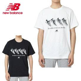 ニューバランス Tシャツ 半袖 メンズ エッセンシャル90S MT91586 new balance