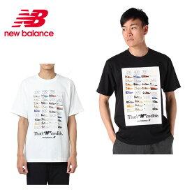 ニューバランス Tシャツ 半袖 メンズ インクレディブルTシャツ MT91582 new balance