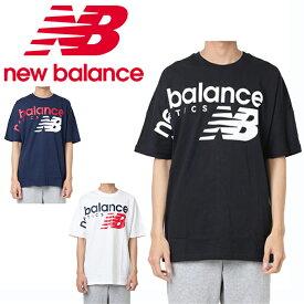 f20bd5dc4db1a ニューバランス Tシャツ 半袖 メンズ レディース NBアスレチッククロスオーバーTシャツ MT91512 new balance