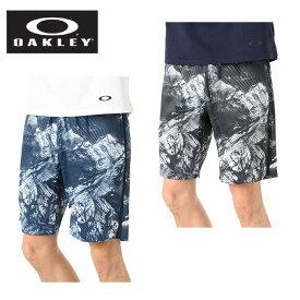 オークリー ハーフパンツ メンズ ENHANCE SLANT GRAPHIC SHORTS 9INCH 9.0 エンハンス スラント グラフィック ショーツ 442591JP OAKLEY