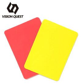 サッカー レフリー用品 レッド/イエローカード VQ540507I05 ビジョンクエスト VISION QUEST