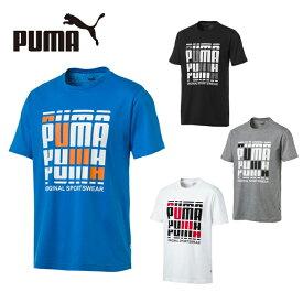 プーマ Tシャツ 半袖 メンズ MS リピートロゴTシャツ 843749 PUMA