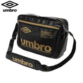 アンブロ UMBRO エナメルバッグ Mサイズ メンズ レディース ラバスポショルダーM 23L UUANJA36-BKGD