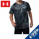 アンダーアーマー スポーツウェア 半袖Tシャツ メンズ UAスピードストライドプリントショートスリーブ ランニング Tシャツ 1320208-012 UNDER ARMOUR