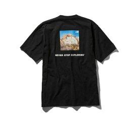 ノースフェイス Tシャツ 半袖 メンズ NT31952 K ブラック ショートスリーブスクエアロゴジョシュアT Square Logo Joshua Tree Tee THE NORTH FACE