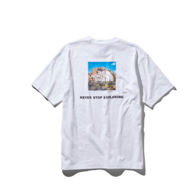 ノースフェイス Tシャツ 半袖 メンズ S/S Square Logo Joshua Tree Tee ショートスリーブスクエアロゴジョシュアツリーティー NT31952 THE NORTH FACE