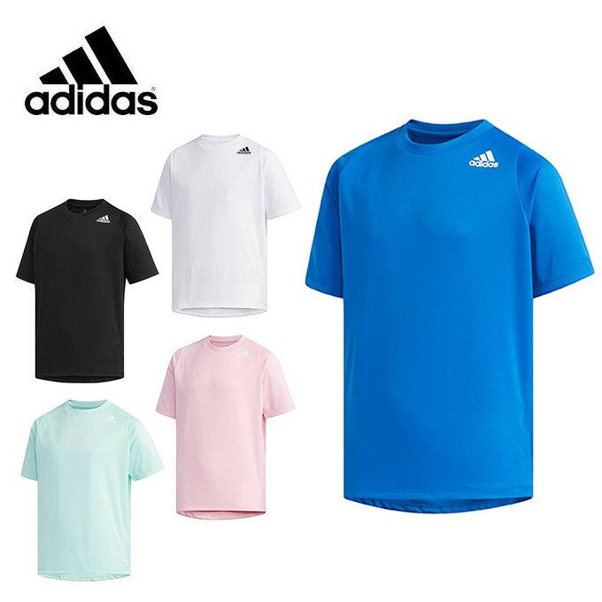 アディダス Tシャツ 半袖 ジュニア TRN ワンポイントロゴ FTJ79 adidas