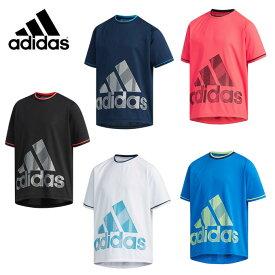 【ダイヤモンド8倍 プラチナ5倍 6/25 20:00〜6/26 1:59】 アディダス Tシャツ 半袖 ジュニア TRN CLIMACOOL グラフィックBOS Tシャツ FTJ81 adidas