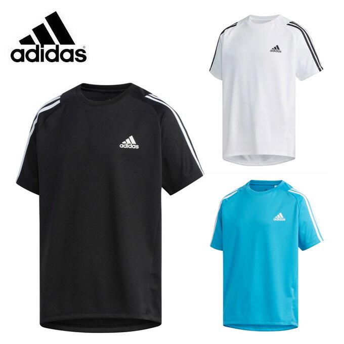 アディダス Tシャツ 半袖 ジュニア B TRN スリーストライプス Tシャツ FTJ80 adidas