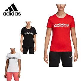 アディダス Tシャツ 半袖 レディース リニア コットン FRU56 adidas