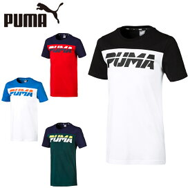 プーマ Tシャツ 半袖 ジュニア ALPHA アルファ トレンド 半袖Tシャツ 843944 PUMA