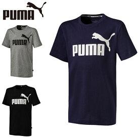 プーマ Tシャツ 半袖 ジュニア キッズ ESS SS 853679 PUMA