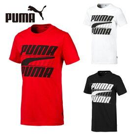 プーマ Tシャツ 半袖 ジュニア REBEL ボールド 半袖Tシャツ 843977 PUMA