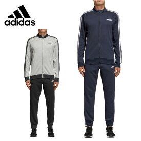 アディダス スポーツウェア上下セット メンズ CORE 3ストライプス スウェットトラックスーツ 裏毛 FRV75 adidas