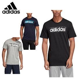 アディダス Tシャツ 半袖 メンズ CORE コア リニアロゴボックスグラフィックTシャツ FSR27 adidas