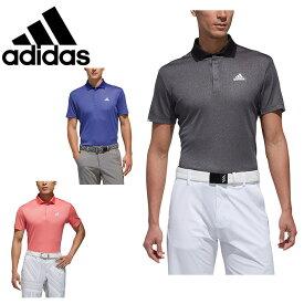 アディダス ゴルフウェア ポロシャツ 半袖 メンズ クライマチルヘザー半袖ポロ FVE37 adidas