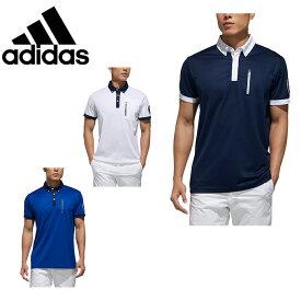 アディダス ゴルフウェア ポロシャツ 半袖 メンズ ADICROSS アディクロス チェストポケット S/S B.D. FVE50 adidas