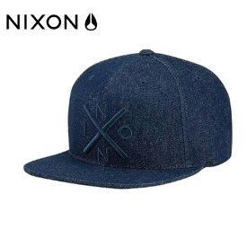 ニクソン NIXON キャップ 帽子 メンズ レディース EXCHANGE SNAPBACK HAT エクスチェンジ スナップバック ハット C2066-301-00