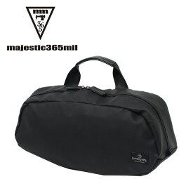マジェスティックミル majestic365mil ウエストバッグ メンズ レディース ビッグウエストバック mmb-0033