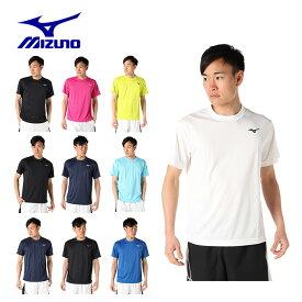 ミズノ テニスウェア バドミントンウェア Tシャツ 半袖 メンズ 62JA9Z01 MIZUNO