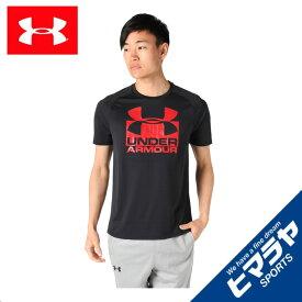 アンダーアーマー スポーツウェア 半袖 メンズ HG TECHスプリット機能Tシャツ 1348558-001 UNDER ARMOUR