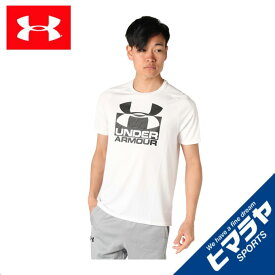 アンダーアーマー スポーツウェア 半袖 メンズ HG TECHスプリット機能Tシャツ 1348558-100 UNDER ARMOUR