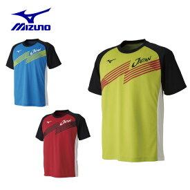ミズノ テニスウェア バドミントンウェア Tシャツ 半袖 メンズ JAPANTシャツ 62JA9X82 MIZUNO