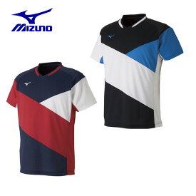ミズノ テニスウェア バドミントンウェア ゲームシャツ メンズ レディース ドライサイエンスゲームシャツ ラケットスポーツ 72MA9011 MIZUNO
