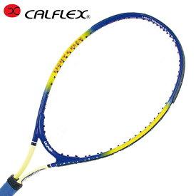 【基本送料無料 3/6 8:59まで】 カルフレックス CALFLEX 硬式テニスラケット 張り上げ済み ジュニア JRラケット 23インチ CAL-23-3 メンズ レディース