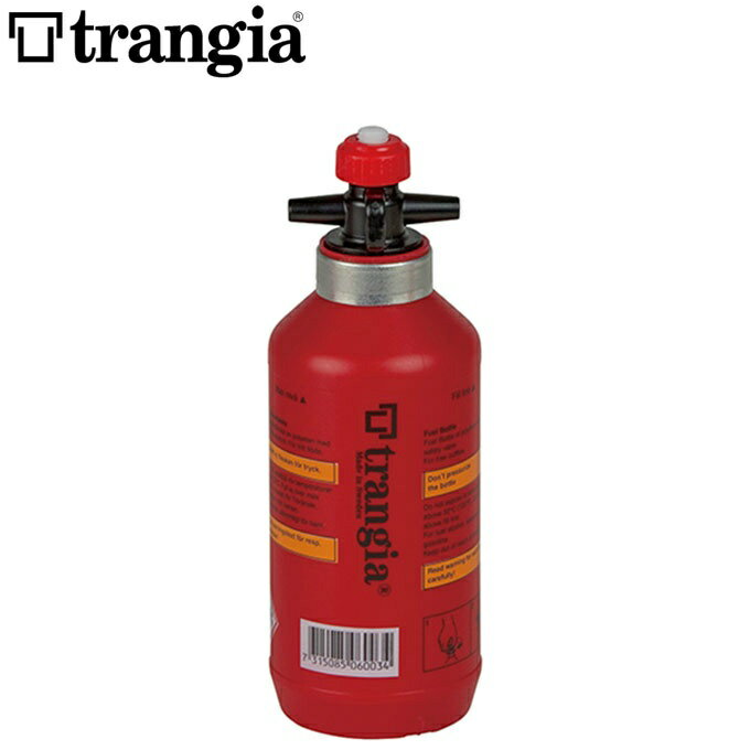 トランギア trangia 燃料ボトル フューエルボトル0.3L レッド TR-506003