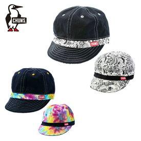 チャムス CHUMS キャップ 帽子 メンズ レディース リバーシブルプリントキャップ CH05-1163