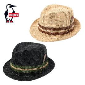 チャムス CHUMS ハット メンズ レディース Raffia Hat ラフィアハット 帽子 CH05-1172