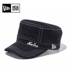 ニューエラ NEW ERA ゴルフ キャップ メンズ WM-01 ストレッチコットン ウォッシャブル オールドロゴ ブラック × ホワイト 11901056